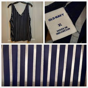 Striped OLD NAVY top